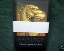 Signed Limited Brisingr by Christopher Paolini MINT!