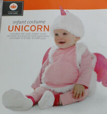 Halloween Infant Girls White Pink Unicorn Costume Sz 12-24 months 21-27.5 lbs