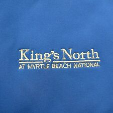 Kings North At Myrtle Beach National Jacket Blue Small Weatherproof Garment Comp