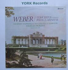UM 3518 - WEBER - Clarinet Concertos FROMENT Radio Luxembourg Orc - Ex LP Record