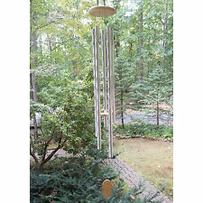 "WINDCHIMES: Impressive 57"" Tall GRAND VISTA Church Bells Wind Chime NEW"