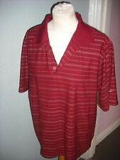 Nike Polyester Regular Striped Casual Shirts & Tops for Men