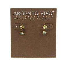Argento Vivo 124449 Sterling Silver Women's Stud