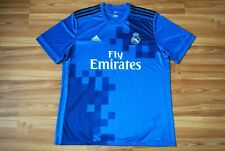 REAL MADRID SPAIN 2017/2018 THIRD FOOTBALL SHIRT JERSEY CAMISETA ADIDAS SIZE XL
