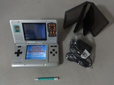 FULLY TESTED Original Nintendo DS Titanium Handheld System With Charger & case