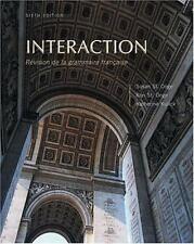 Interaction : Révision de Grammaire Française by Ronald St. Onge, Susan St. Onge