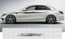 Mercedes-Benz C-Clase W205 Parte Superior a Rayas Contorno Decal Set (C63 AMG Sport)