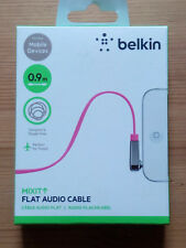 Belkin Flat Audio Cable rose