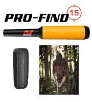 New!! Minelab Pro-Find 15 Splashproof Pinpointer metal detector Free Shipping US