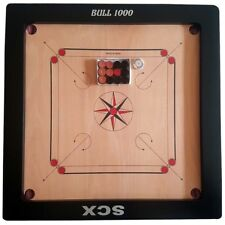 PRO CARROM BOARD BULL 1000 12MM GAME FULL SIZE + COINS & STRICKER  FAST SHIPPING