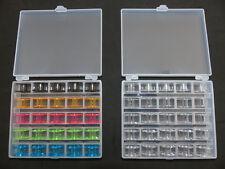 Auswahl Aufbewahrung Box f. 25 Spule Nähmaschine Nähzubehör Nähen Hobby DIY