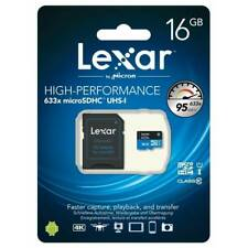 Lexar 16gb Micro SDXC UHS-I 633X U1 95MB/S Class 10 Adapter SD Included