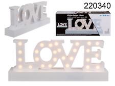 'Love' LED sign