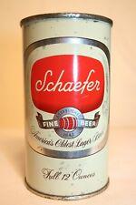 New listing Schaefer Fine Beer 1953 flat top - F&M Schaefer Brewing, New York, New York