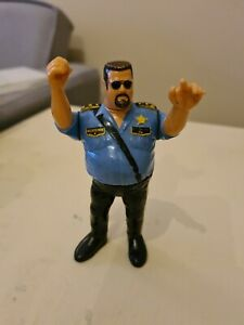 WWF/WWE Vintage Hasbro Big Boss Man Action Figure, 1991