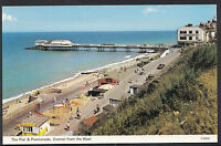 Norfolk Postcard - The Pier & Promenade, Cromer From The West   BB773