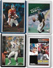 JOHN ELWAY SPORTS CARD LOT OF 4 DENVER BRONCOS NFL 1990'S