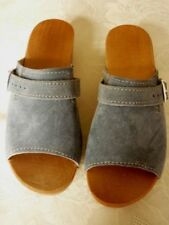 Unbranded Mules Med (1 3/4 to 2 3/4 in) Heel Height Heels for Women