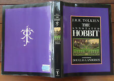 J R R Tolkien The Annotated Hobbit Douglas A Anderson Hardback & Dust Jacket