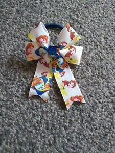 Girls beauty and the beast hair bobble BN