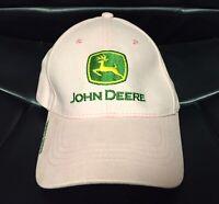 JOHN DEERE OWNERS EDITION Adult Hat Pink Baseball Cap -Nothing Runs Like A Deere