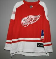 NHL Detroit Red Wings #71 LARKIN Hockey Jersey New Youth Sizes