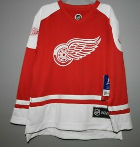 NHL Detroit Red Wings #71 LARKIN Hockey Jersey New Youth Sizes