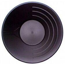 Goldwaschpfanne Basic Standard 14'' - 35 cm schwarz  Goldwaschen Waschpfanne