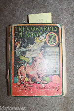 The Cowardly Lion of OZ  1923 by L Frank Baum HC BOOK  in Poor cond