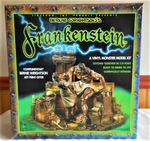 OOP Rare Bernie Wrightson Frankenstein Vinyl MODEL KIT By Sideshow Collectables