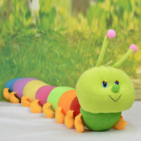 Colorful Inchworm Soft Caterpillar Lovely Developmental Child Baby Toy Doll TB