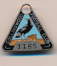 1966 Collingwood Football Club Social Club Membership medallion badge