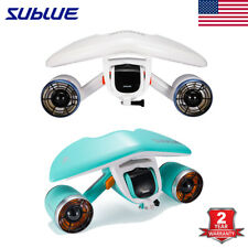 520W Electric Sea Scooter Underwater Propeller Diving Snorkeling Battery 30mins