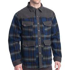 P NWT Men's Smith&Wesson Calvary/BLK Plaid 80510 Range Shirt Jacket SZ M   ANB