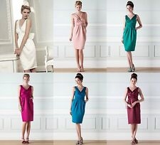BHS Eleanor Bridesmaid Dress Dusky Pink Jade Fuchsia Ocean Merlot Ivory BNWT