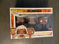 RARE RETIRED Funko Pop! Vinyl Michonne and her Pets Walking Dead PX Exclusive