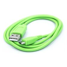 Green 3ft USB Cable Rapid Charge Power Wire Data Sync Cord for CELL PHONES