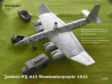 Junkers EF 043 Atombomberprojekt 1945     1/72 Bird Models Bausatz / resin kit