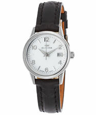 Glycine Women's 3909.11.LBK9 28mm Swiss Made Sapphire Crystal Silver Dial Watch