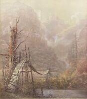 Swinging Bridge by Ben Hampton