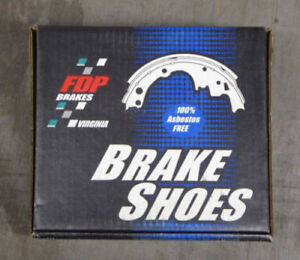 BRAND NEW FDP REAR BRAKE SHOES 462R FITS VEHICLES LISTED ON CHART