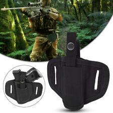 Black Left Handed Belt Holster BB Airsoft Gun Pistol Handgun Tactical Concealed