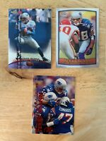 1998 & 1999..NFL CARDS...TERRY GLENN (1 LOT, 3 CARDS)...FREE SHIPPING