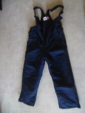 Artic Quest Ski Bib Pants Suit Navy Youth Unisex  Size 6X Water Resistant
