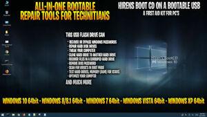 Hiren's Boot USB ~ 2021 Version ~ Windows Utilities ~ Restore ~ Recover ~Tech Ed
