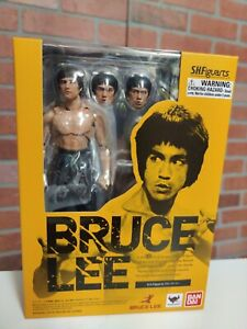SH FIGUARTS Bruce Lee Black Pants Bandai 2016 Authenic sealed MIB Boxed New