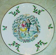 Royal Doulton Christmas Plate 1977 in Original Box with Original Paperwork