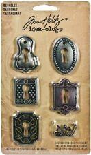 Tim Holtz Idea-Ology décorait Serrures-Tim Holtz métal Embellissements & Findings