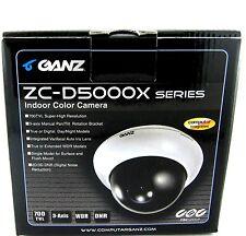 New Ganz ZC-DN5212NXA HiRes True Day Night 700TVL GX5 Security CCTV Dome Camera