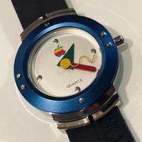 Apple Mac OS Macintosh Vintage Unused Watch Novelty Rainbow Logo Rare